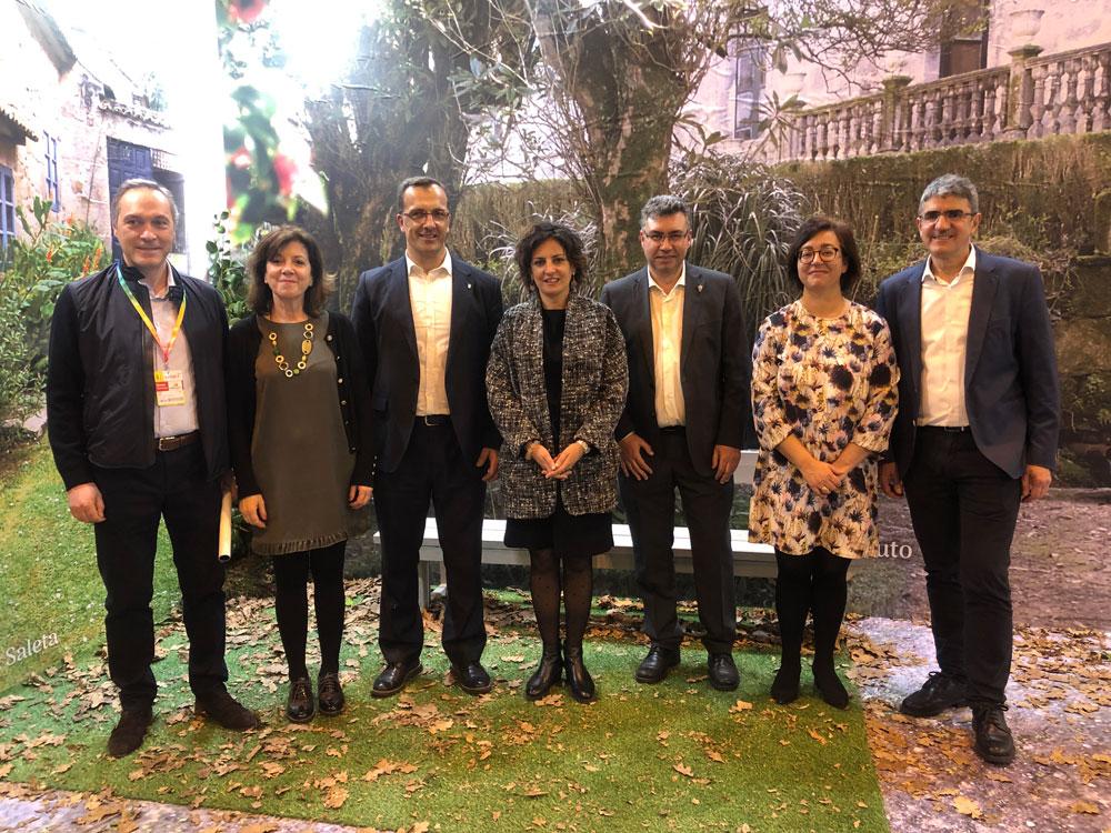 Reunión alcaldes e alcaldesas Xeodestino en Fitur