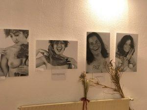 A exposición fotográfica do curso 'Namórate de Ti', no Mercado de Tomiño ata final de mes