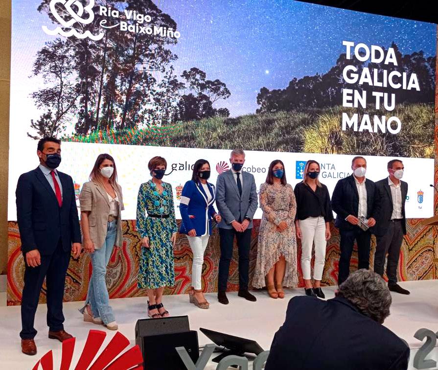 O Xeodestino Ría de Vigo e Baixo Miño pon toda Galicia na man dos e das turistas en Fitur