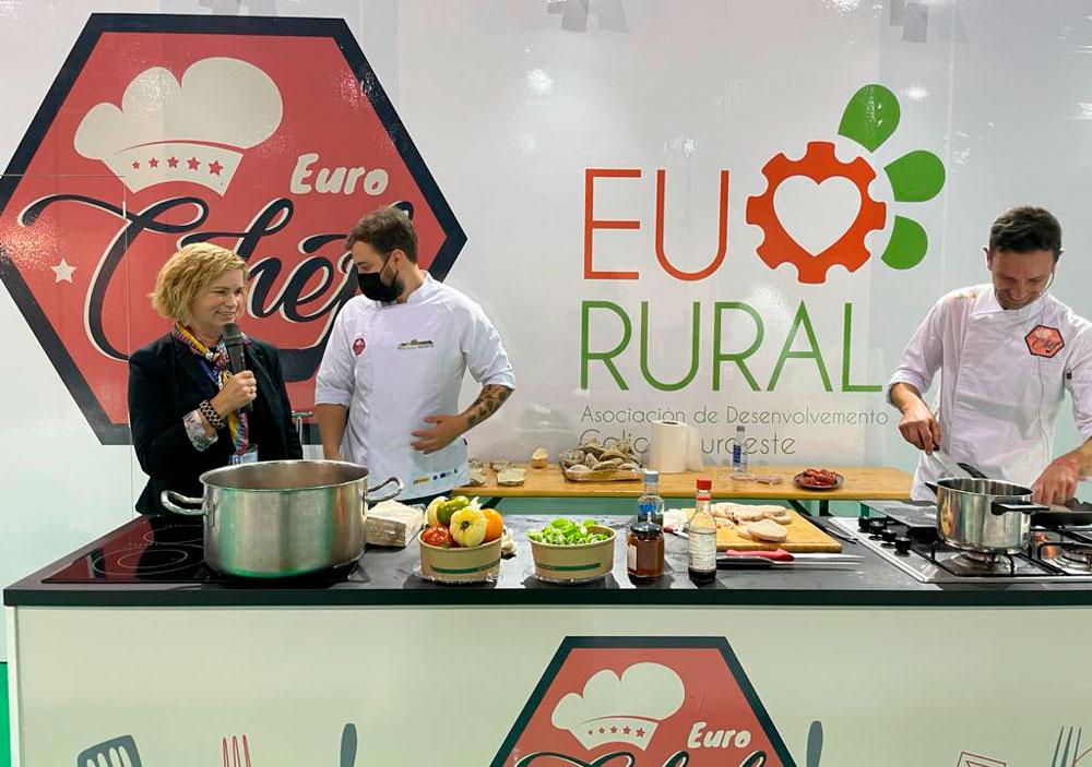 Eurochef amosa de que está feito no Salón de Alimentación do Atlántico